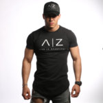 AZ Men T-shirt - BLACK